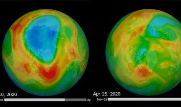 """Lỗ thủng tầng ozone lớn nhất ở Bắc Cực đã """"vá"""" lại"""