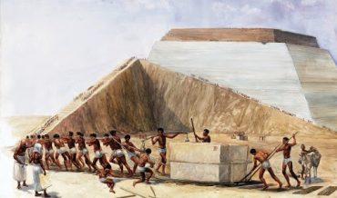 Người cổ dùng cách gì xây dựng những công trình khổng lồ?