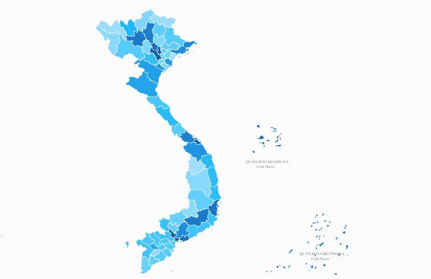 Vị trí của các điểm cực ở Việt Nam ở đâu?