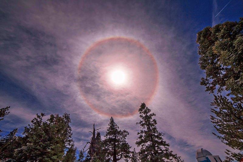 Quầng Mặt Trời là gì? Tại sao lại có Quầng Mặt Trời?